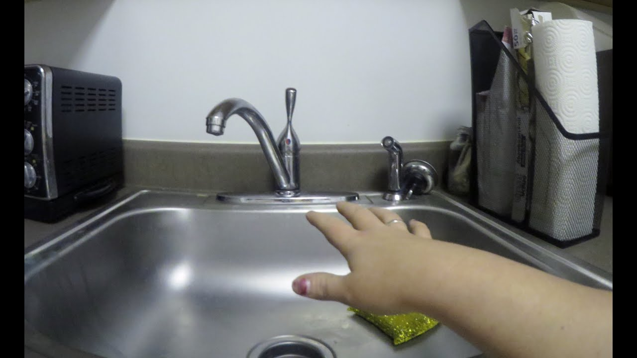 How To Reach A Normal Height Kitchen Faucet For Wheelchair Users Or Short People