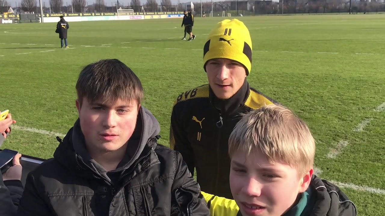 Öffentliches BVB-Training in Brackel am 16. Februar