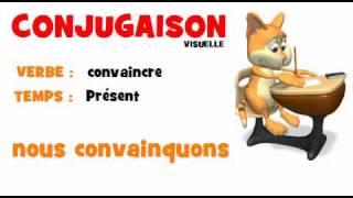 Conjugaison Convaincre Present Youtube