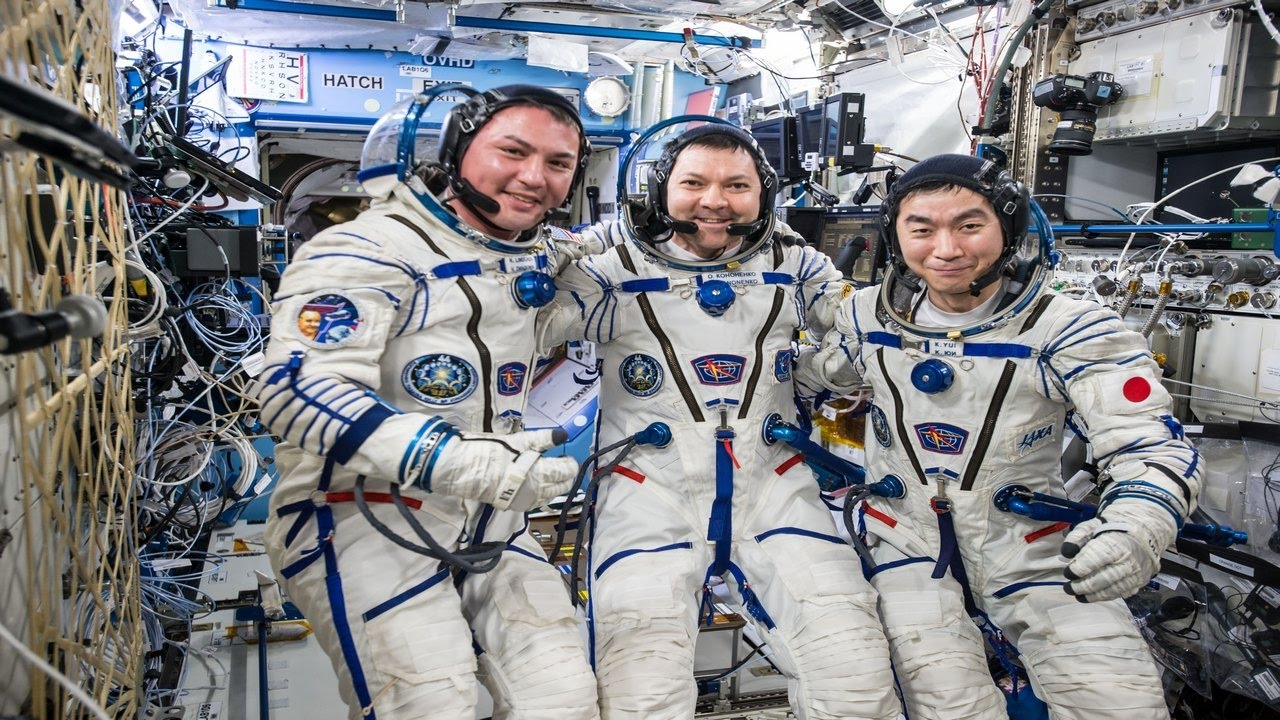 current astronauts in space station - photo #16