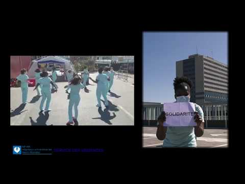 Clip Covid -19 service des Urgences de l'hôpital Universitaire Henri- Mondor.APHP