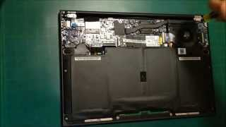 ASUS ZENBOOK UX31 Series Laptop Disassembly (Replace Keyboard)