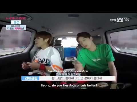 [ENG] Wanna One Go Episode #1 - Jihoon & Guanlin's Kiss Incident Revealed!