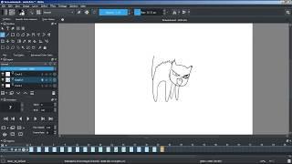 Krita урок | экспорт анимации в видео формат