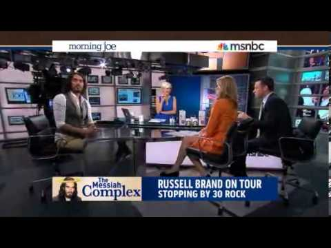Russell Brand Takes Over Morning Joe Interview to Ask About Bradley Manning & Edward Snowden