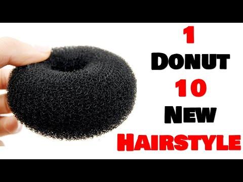 1-donut-10-new-hairstyle-||-hair-style-girl-||-easy-hairstyles-||-messy-bun-||-ladies-hair-style