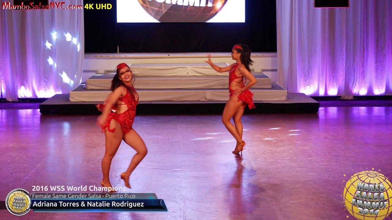 wss professional female same gender salsa world champions wss16 professional female same gender salsa world champions adriana torres natalie rodriguez