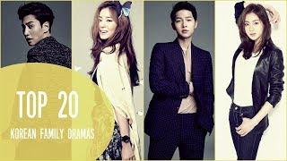 Top 20 Korean Family Dramas