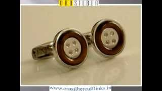 Silver Cufflinks | Men's accessories Thumbnail