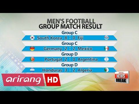 Rio 2016: S. Korea wins first group football match against Fiji