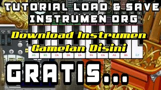 Tutorial Cara Load Dan Save Instrumen Di Org 2018 V.1.3.1 Up  |  Download Instru