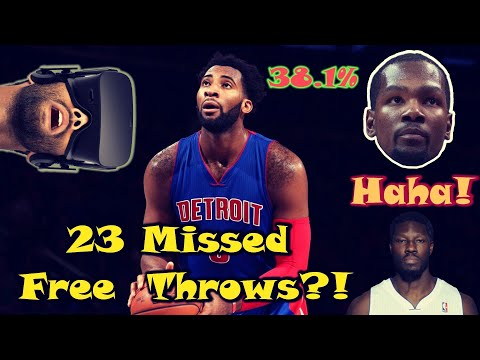 7 SHOCKING Facts About Andre Drummond's AWFUL Free Throw Shooting
