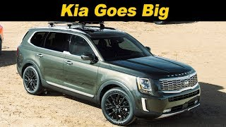 2020 Kia Telluride First Look