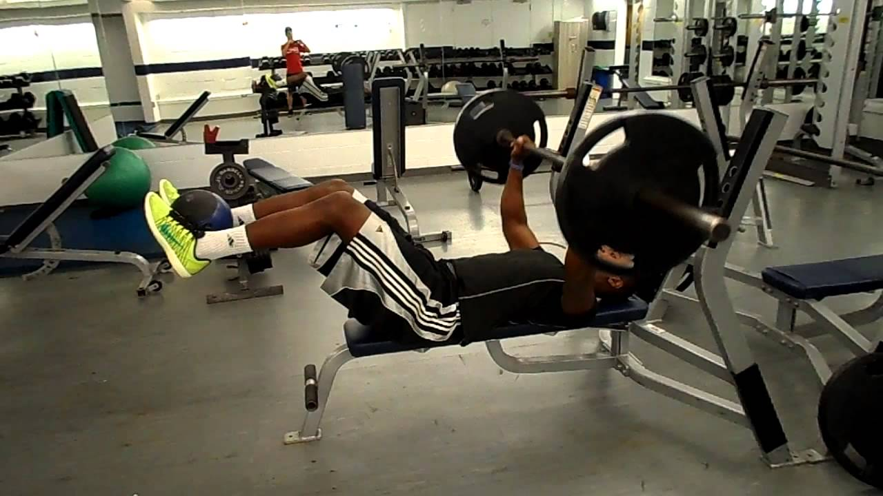 how to leg drive bench press