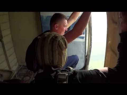 Прыжок с парашютом Д-6 800 метров. ОТКЛЮЧИТЕ ЗВУК! мат(... приношу извинения, эмоции! 18+