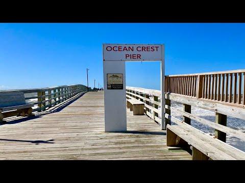 Ocean Crest Pier Tour - Oak Island, NC
