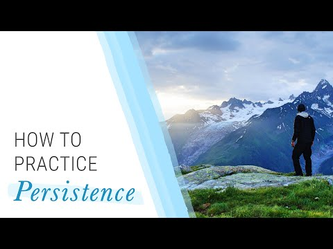 How to Practice Persistence | Jack Canfield