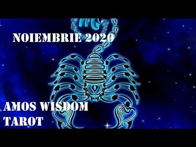 Tarot Horoscop - Scorpion - Noiembrie 2020