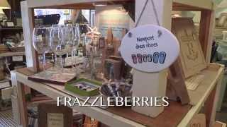 "Frazzleberries, a ""Discover Rhode Island"" business segment"
