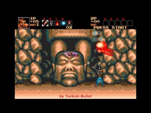 Contra: Hard Corps (Sega Genesis) - (Longplay - Brad Fang)