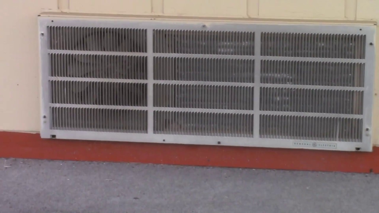 Old Motel Air Conditioners Youtube
