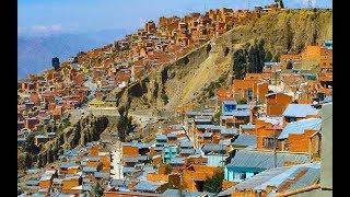 Les villes de l'extrême La Paz