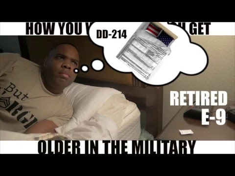 HOW YOU WAKE UP AS YOU GET OLDER IN THE MILITARY