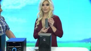 """auvisio Micro-Stereoanlage mit DVD/ USB/ SD-Karte """"MHX-540.DVD"""""""