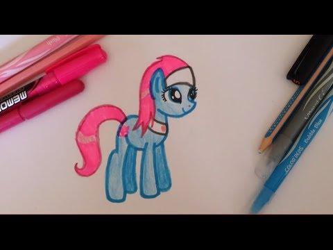 Как нарисовать пони видео