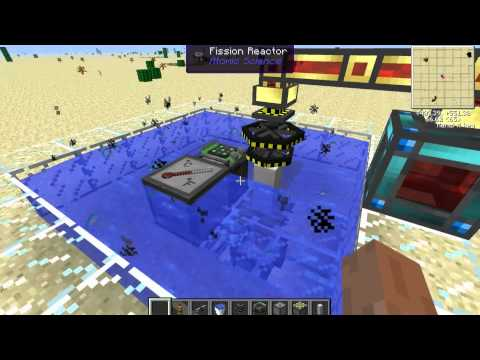 Minecraft Atomic Science Fission Reactor Tutorial Guide