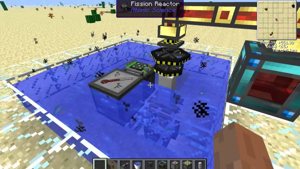 Atomic Science Fission Reactor Tutorial For Tekkit