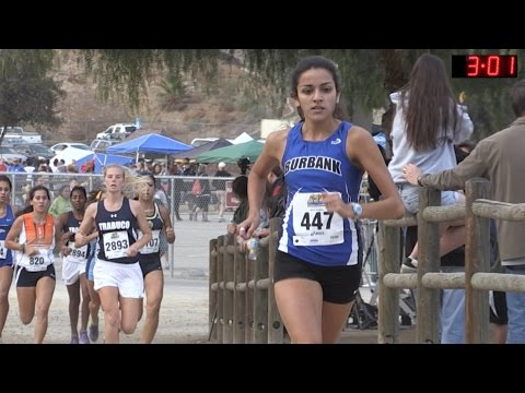 2014 XC - CIF-ss Cross Country Prelims - Race 29 (D1 Girls, Heat 3)