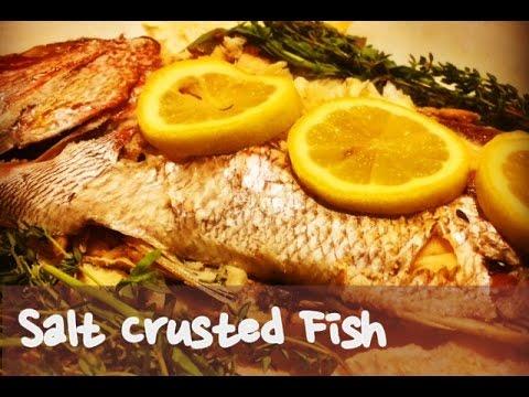 鹽焗魚 – 廣告一二  Salt Crusted Fish – Advertising Fun