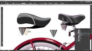 Drawing a Vector Bike in Adobe Illustrator