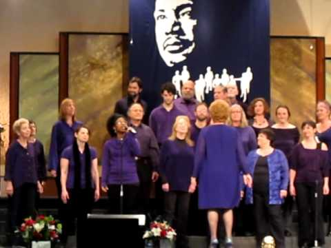 Portland Interfaith Gospel Choir - at MLK event 1/16/12 in PDX singing for the first time in public!