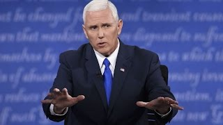 How Can Anyone Think Mike Pence Won the VP Debate?