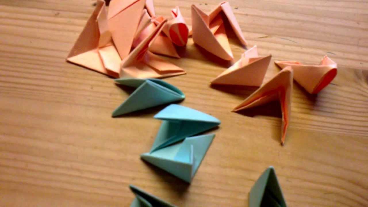 Origami Für Anfänger : 3d origami f r anf nger youtube ~ A.2002-acura-tl-radio.info Haus und Dekorationen