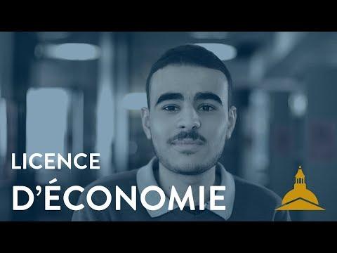 La licence d'économie