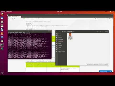 Демо видео - Установка MyCNC на Ubuntu 18.04 LTS