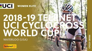 2018-2019 Telenet UCI Cyclocross World Cup - Waterloo (USA) / Women Elite