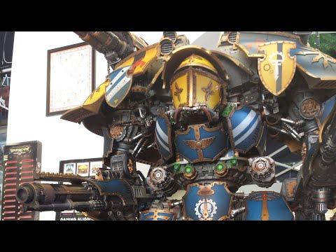 Warlord Titan vs Reaver/Knights/Primaris Battle Report