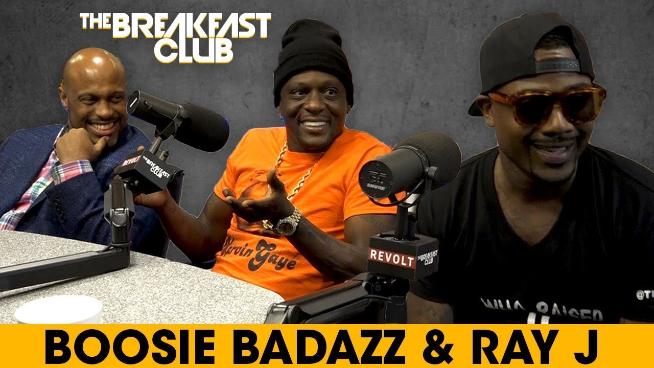 Image result for Boosie Badazz & Ray J Talk Acting, Sperm Count, Booty Goons & More