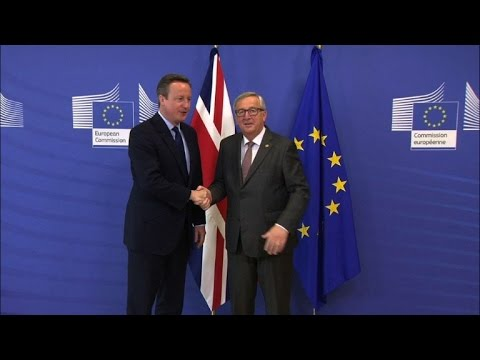 EU leaders put pressure on Cameron to get Brexit ball rolling