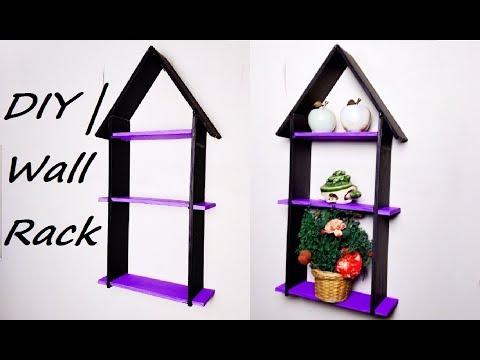 DIY | Wall Rack | Wall Organizer |