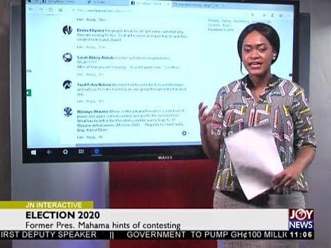 Election 2020 - Joy News Interactive (21-5-18)