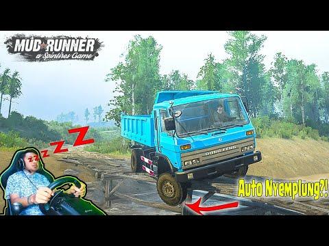 Auto Nyemplung.!!! Sopir Dump Truck Dong Feng Kalimantan image