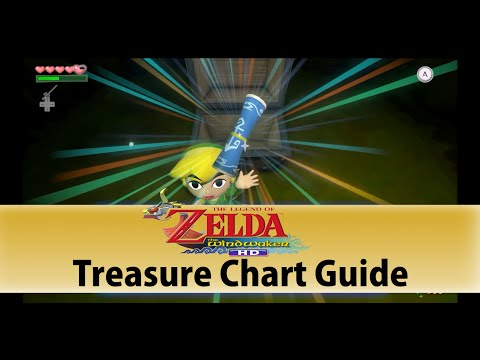 The Wind Waker HD: Treasure Chart Guide