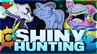 Live Shiny Hunting Pokemon Sun And Moon! Spoiler Free! Alolan Form Hunting!