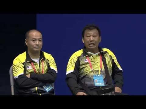 TOTAL BWF Thomas & Uber Cup Finals 2016 | Badminton SF-Thomas Cup-MAL vs DEN