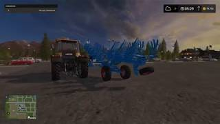 Sprzedajemy sprzęt leśny i kupujemy traktor z pługiem - FARMING SIMULATOR 17 #2